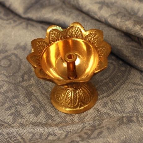 Подставка под благовония «Цветок» (латунь)