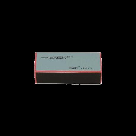 Zinger Полировочный блок (брусок) для ногтей (180\220\320)