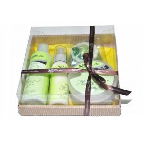 Набор подарочный для тела и душа ВИНОГРАД-КРИМ (пенка, молочко, скрабби, массорти) TM ChocoLatte