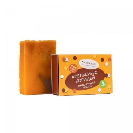 апельсин с корицей натуральное мыло