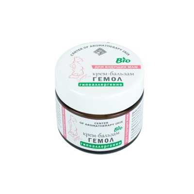 Крем-бальзам «ГЕМОЛ» (профилактика геморроя) 50 мл /ТМ Ирис