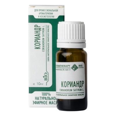 Эфирное масло «Кориандр» 10мл /ТМ Ирис