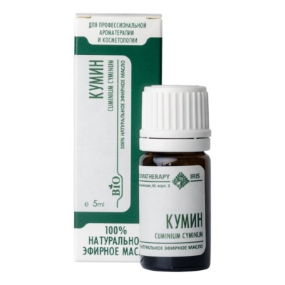 Эфирное масло «Кумин» 5мл /ТМ Ирис