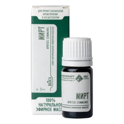 Эфирное масло «Мирт» 5мл /ТМ Ирис