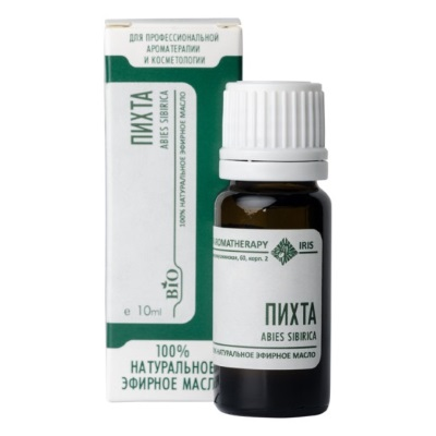 Эфирное масло «Пихта» 10мл /ТМ Ирис