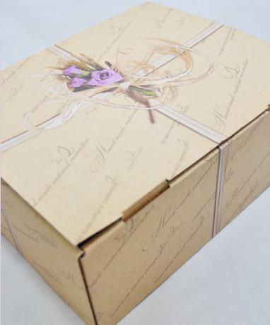 Коробка подарочная БОЛЬШАЯ 25х20,5х10 см