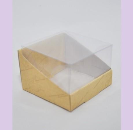 Коробка с пластиковым верхом NATURAL COSMETICS 7,5х7,5х5 см